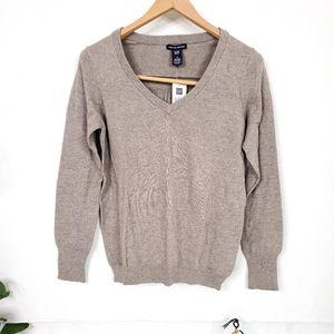 Gap Cashmere Blend V Neck Sweater